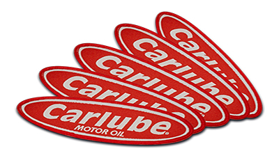 Free CarLube Badge