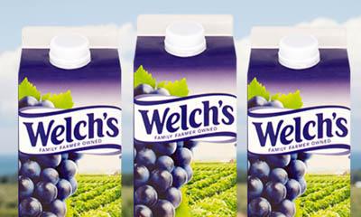 Free Carton of Welch's Purple Grape Juice
