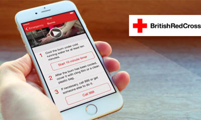 Free First Aid App from British Red Cross