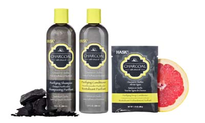 Free Hask Charcoal Shampoos and Conditioners