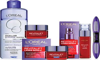 Free L'Oreal Gift Set