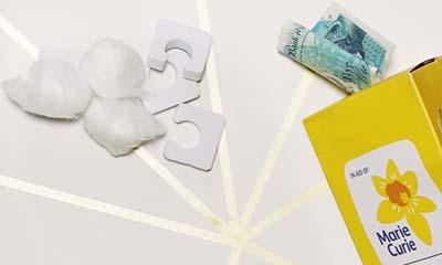Free Marie Curie Pamper Packs