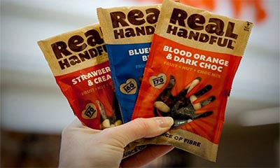 Free Set of Trail Mix Snacks from Real Handful
