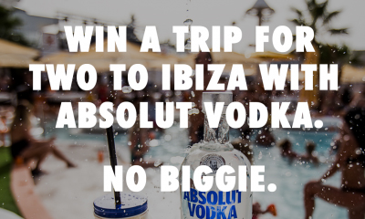 Win A Trip To Ibiza & Other Goodies from Absolut Vodka