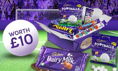 Win a Cadbury Chocolate Football Gifts