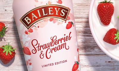 Free Baileys Strawberry & Cream