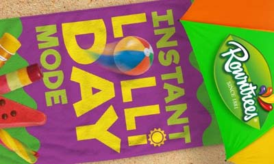 Free Rowntree's Ice Lolly Beach Towels