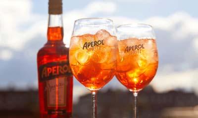 Free Glass of Aperol Spritz