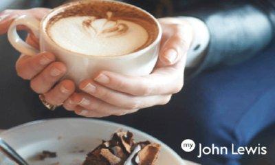 Free Hot Drink & Cake at John Lewis