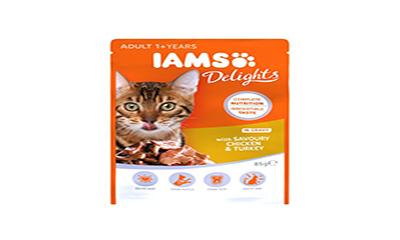 Free IAMS Delights Cat Food