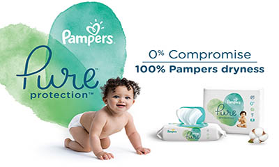 Free Pampers Nappies and Wipes