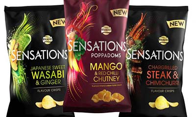 Free Walkers Sensations Snack Pack