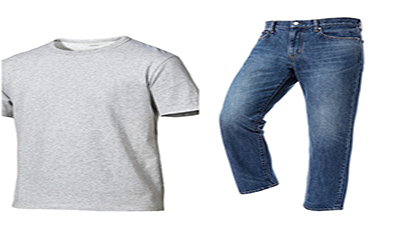 Free Jeans And T-Shirts