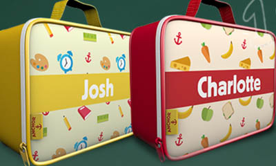 Free Anchor Lunch Bag