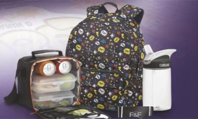 Free Backpack & Water Bottle Set