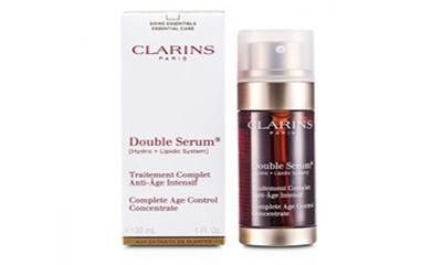 Free Clarins Double Serum & Moisturiser