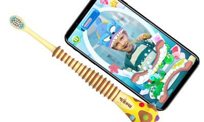 Free Colgate Magik Toothbrush & App