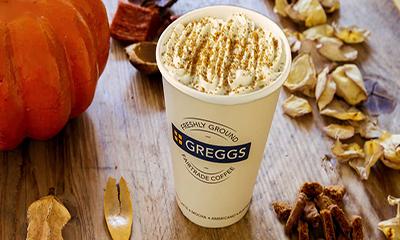 Free Greggs Pumpkin Spiced Latte