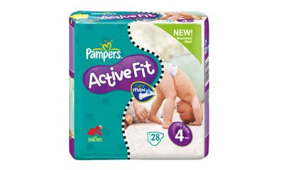 Free Pampers Active Fit
