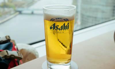 Free Pint of Asahi Beer