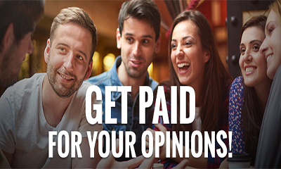Get Paid for your Opinions
