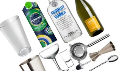 Free Absolut Vodka Martini Cocktail Kit
