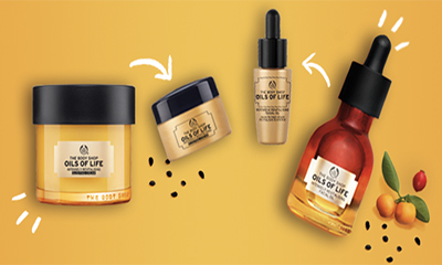 Free Body Shop Face Oil & Sleep Cream