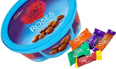 Free Box of Cadbury Roses
