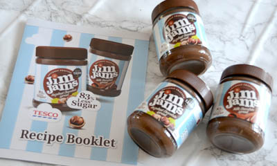 Free JimJams Chocolate Spread & Ryvita Rye Bread