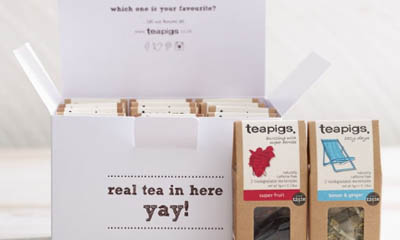 Free Teapigs Party Packs