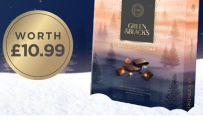 Win a Green & Blacks Advent Calendar
