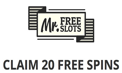 20 Free Spins with MrFreeSlots
