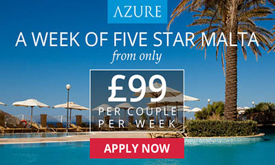 Enjoy 1 week for 2 in Malta from just £99