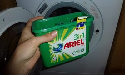 Free Ariel & Bold Detergent