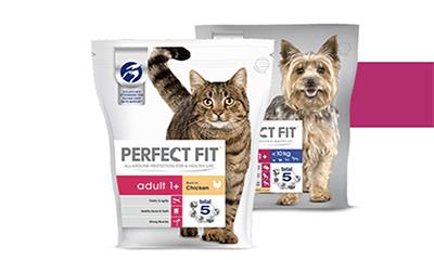 Free Bag of Perfect Fit Pet Food