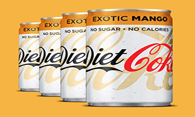 Free Diet Coke Exotic Mango