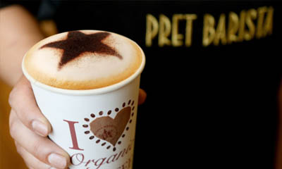Free Drink from Pret – 300,000 available!