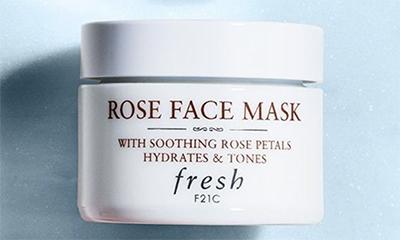Free Fresh Rose Face Masks