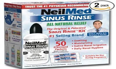 Free NeilMed Sinus Rinse Bottle