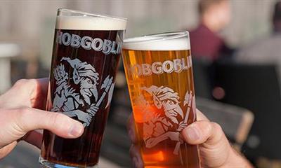 Free Pint Glass from Hobgoblin