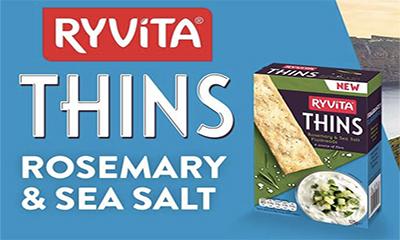 Free Ryvita Rosemary & Seasalt Thins – ends soon!