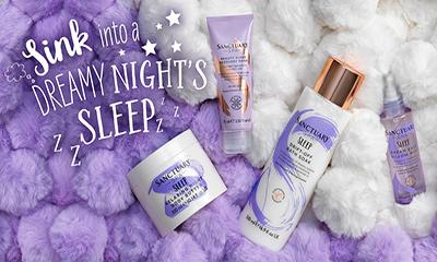 Free Sanctuary Spa Sleep Products