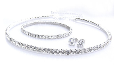 Free Swarovski Crystal Jewellery Set