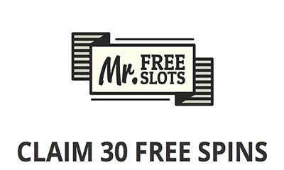 30 Free Spins with MrFreeSlots