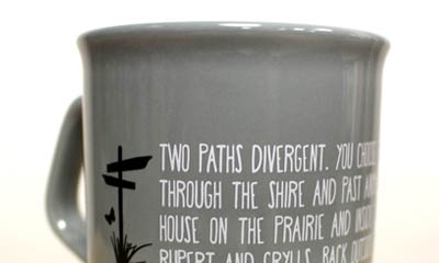 Free Booklovers Mug