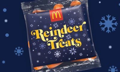 Free Carrots for the Reindeer from McDonalds