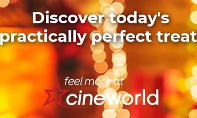 Free Food & Drinks from Cineworld Advent Calendar