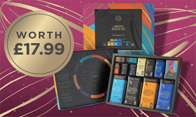 Free Green & Black's Chocolate Box (worth £17.99)