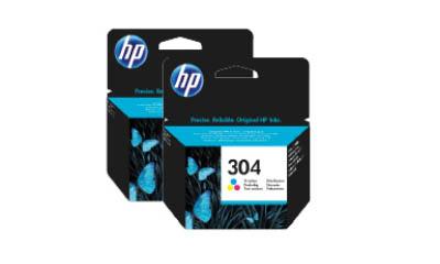 Free HP Ink & Toner
