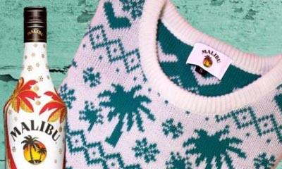 Free Malibu Christmas Jumper